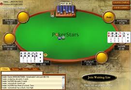 5 Card Draw being played on Pokerstars