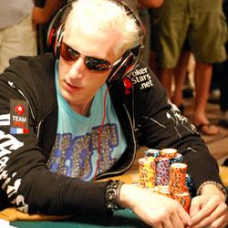Bertrand Elky Grospellier Protecting his stack in WSOP