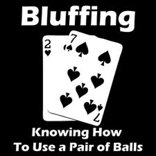 Bluffing in Poker - When not to risk it