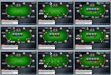 Multi Tabling on PokerStars
